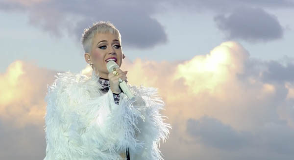 Katy Perry Slays Powerful One Love Manchester Performance Of 'Roar' & 'Part Of Me'