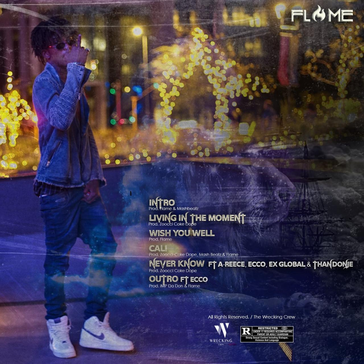 Flame – Living in The Moment