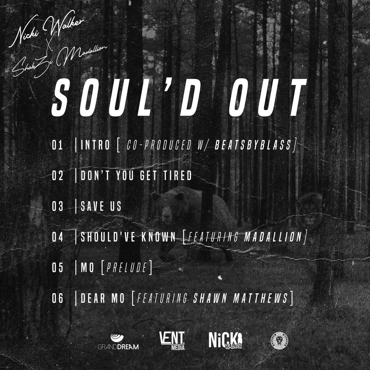 "ShabZi Madallion and Nicki Walker Announces their joint project ""Soul'd Out"""