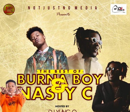 NotJustNG Ft. DJ Young Q – Best Of Burna Boy & Nasty C (2018 Edition)