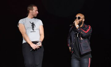 VIDEO: Cassper Nyovest & Chris Martin - Malome Performance at Global Citizen Festival