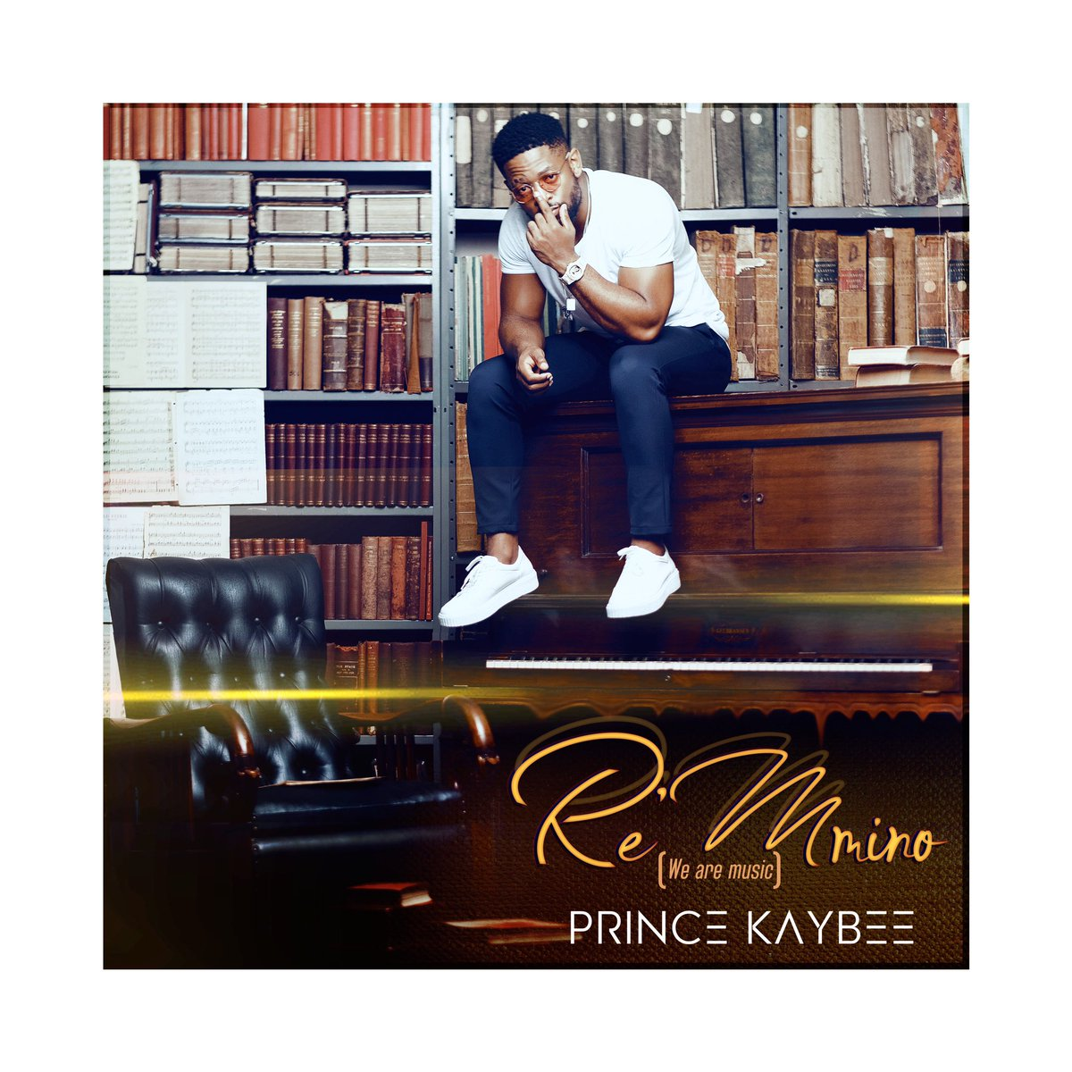 Prince Kaybee Drops Artwork of Re Mmino (We are Music) Album