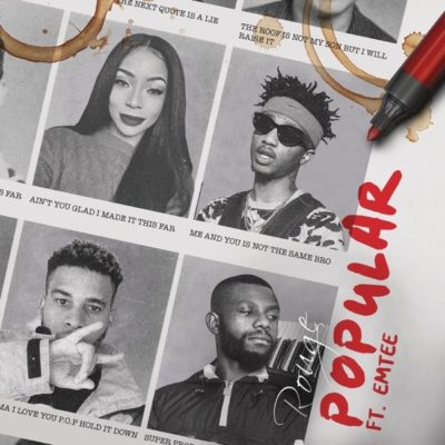 Rouge – Popular ft. Emtee