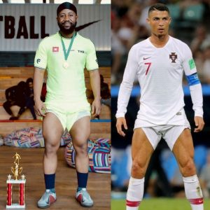Lol! See Fans Reaction After Cassper Nyovest Compares Himself With Ronaldo.