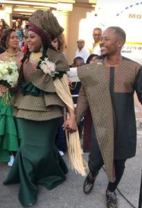 See Snaps From Priddy Ugly & Bontle's Traditional Marriage.
