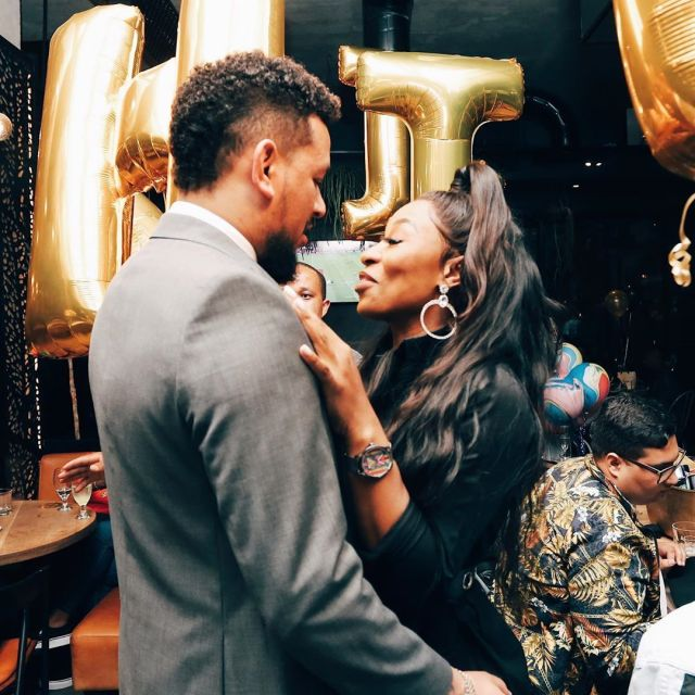"""You Are One In A Million"" – AKA Gushes Over Bae DJ Zinhle."