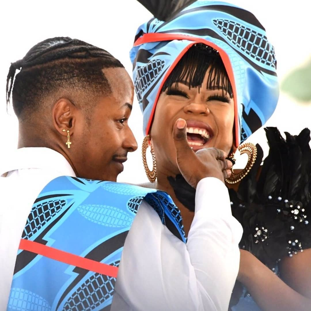 """My Dream Is To Carry Your Seed"" – Newly Wedded Bride, Bontle To Hubby Priddy Ugly."