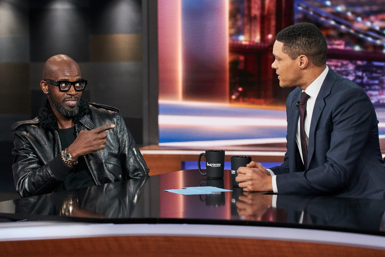 """Your Light Sparks Inspiration"" – Black Coffee To Trevor Noah"