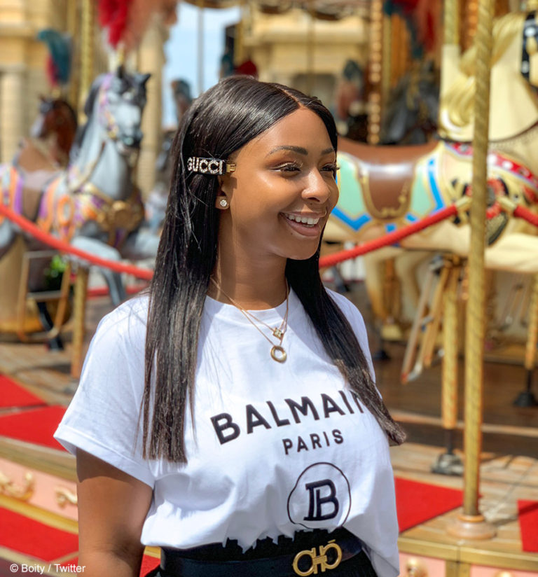 Its A Win Win For Boity, As She Partner With HuaweiZa.