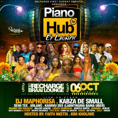 Kabza De Small & DJ Maphorisa – Piano Hub Mix Sunday 6th Oct Recharge Midrand