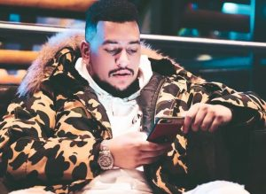 """Today is the day the LORD has made"" – AKA on launching his SneAKA collection."