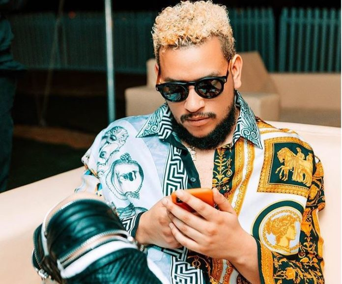 See what AKA has to say about a fan who got his face tattooed on his arm