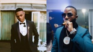 Fans hail Wizkid and Cassper Nyovest after a lit performance on stage