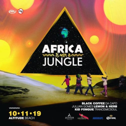 Black Coffee – Africa Is Not A Jungle Mix (2019-12-24)