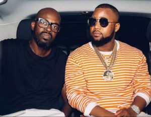 Black Coffee Surprise's Cassper By Attending His Party Unannounced