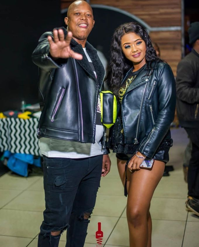 "Mampintsha gushes over girlfriend Babes Wodumo's beauty, calls her his ""wife"""