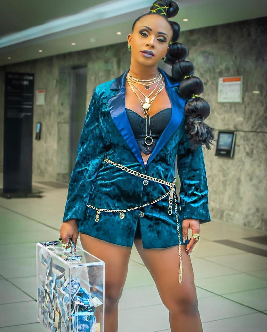 Boity Excited As She Gets Featured On Billboard Magazine