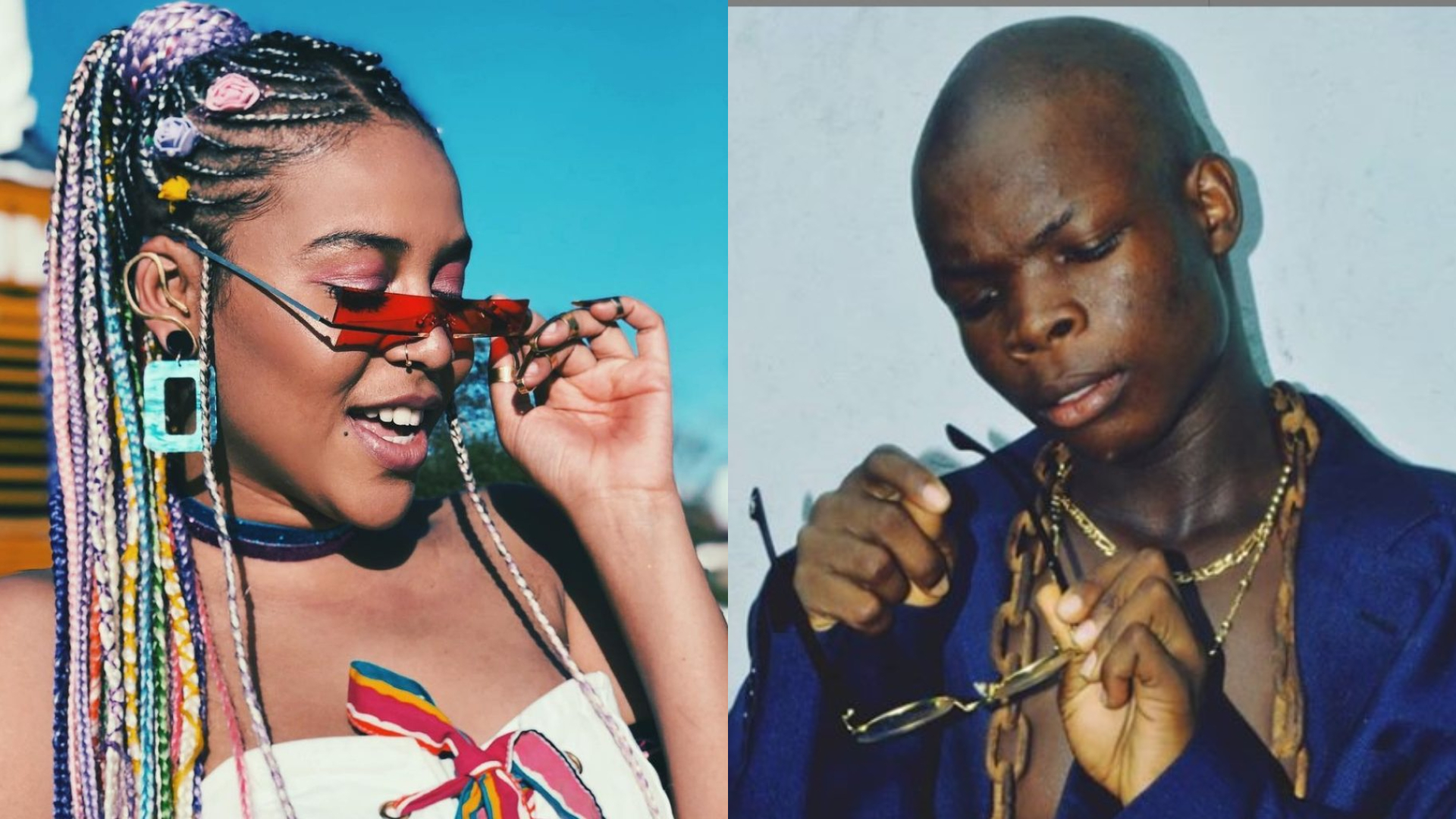 """Goat"" crooner, Ay Poyoo reaches out to Sho Madjozi for a collaboration"