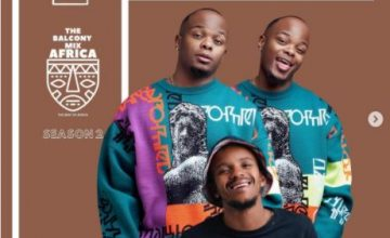 Major League & Kabza De Small – Amapiano Live Balcony Mix Africa B2B (S2 EP2)