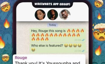 Rouge – W.A.G ft. Sarkodie & Yousspupha